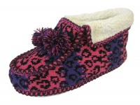 W084 - Ladies Knitted Bootee